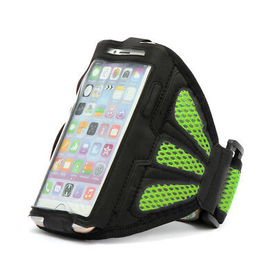 For iPhone 6/6S Green Premium Sports Mesh Running Armband Case Cover Holder Hot