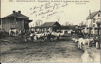 (S-41588) France - 03 - Montmarault Cpa