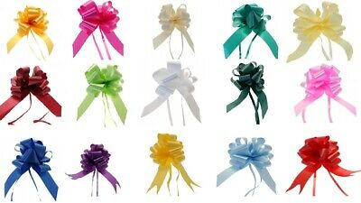 Pull Bows 50/30 mm Ribbon Flower Wedding Gift Wrap Birthday Hampers Decoration
