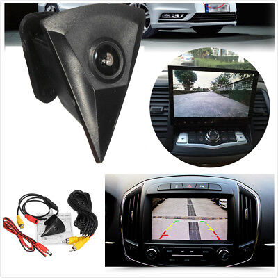 12V Car Front View Camera Lens Waterproof 170° Night Vision Logo Embedded For VW
