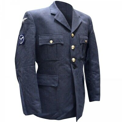 Genuine British Army RAF No1 Royal Air Force Dress Uniform Jacket Tunic GRADE 1