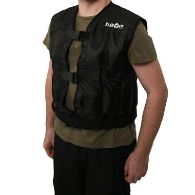 Weight Vest 10 Kg Weighted Jacket Running Training Exercise+ 20 Weights