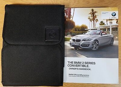 GENUINE BMW 1 SERIES E81 E87 2007-2011 HANDBOOK OWNERS MANUAL WALLET # K-758