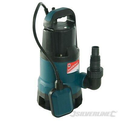Silverline 550W Dirty Water Pump 10,500Ltr / hr Submersible Pump 171682