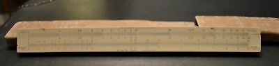 The Frederick Post Co. No. 1446 Slide Rule, Hemmi Bamboo, Made In Japan 1940's