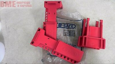 Lot Of 2 B-Safe Bs-02 Ball Valve Lockout