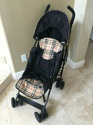 Authentic Burberry Novacheck Baby Infant Stroller $1200 retail - Very Rare