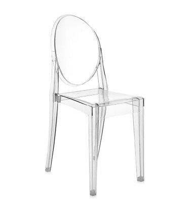 KARTELL SEDIA VICTORIA GHOST design by Philippe Starck in ...