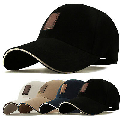 Baseball Cap With Classic Adjustable Fastner Boys Men Ladies Sun Summer Hat WOW