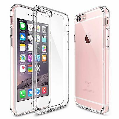 For Apple iPhone 8 Plus Case Silicone Clear Cover Bumper Rubber Protective TPU