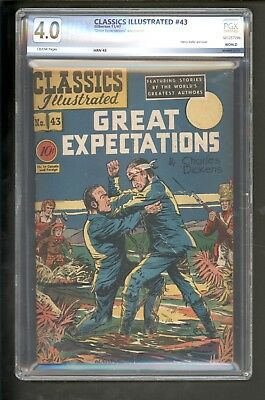 Classics Illustrated #43 [O]  Great Expectations Nov, 1947 Gilberton PGX 4.0
