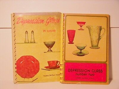 Depression Glass in Color & Depression Glass Number Two Sandra Stout Reference