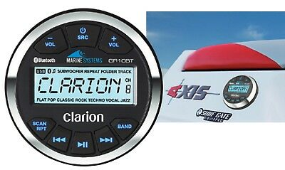 Clarion GR10BT - USB/MP3/WMA-Empfänger BOOT MARINE Bluetooth  UVP war € 199,00