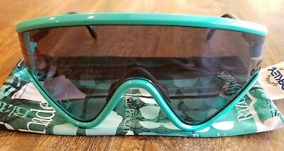New Oakley Eyeshade Sunglasses 9259-01 Sea Foam / Black Heritage Collection 2014