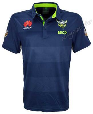Canberra Raiders 2018 NRL Players Performance Polo Shirt Sizes S-5XL