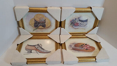 Peggy Abrams Framed Pictures Lot of 4 NEW
