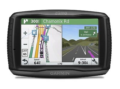 Garmin ZUMO 595LM 5 inch Motorbike Satellite Navigation with UK, Ireland and Ful