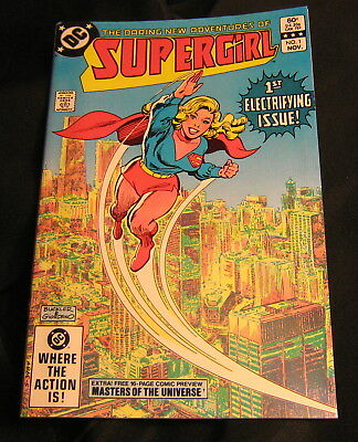 Daring New Adventures of Supergirl  1 (11/82) Origin Retold, 1st Appearance Psi