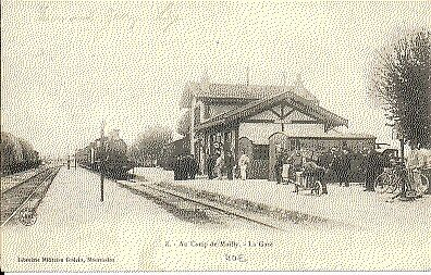 (S-12957) FRANCE - 10 - MAILLY LE CAMP CPA      GUERIN  ed.