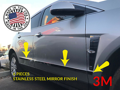Luxury FX Chrome Fuel Gas Door Cover for 2010-2016 Cadillac SRX