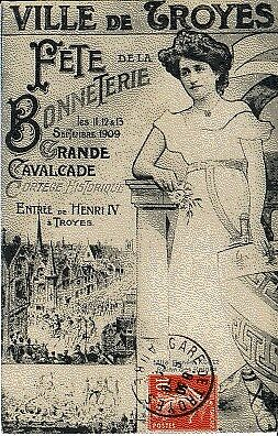 (S-13265) France - 10 - Troyes Cpa Carte Dessinee     Non Identifie