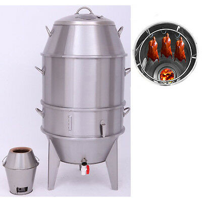 Stainless Steel Roast Duck Oven Business Equipment Delicious Food Charcoal