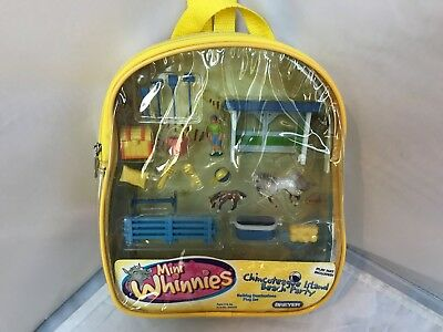 New BREYER Mini Whinnies Chincoteague Island Beach Party Play Set Back Pack RARE
