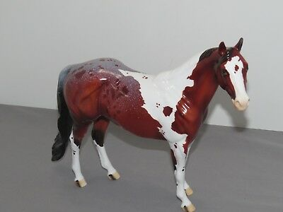 Peter Stone REDWOOD Paint Horse Very Limited Edition GLOSSY 2017 CUSTOM