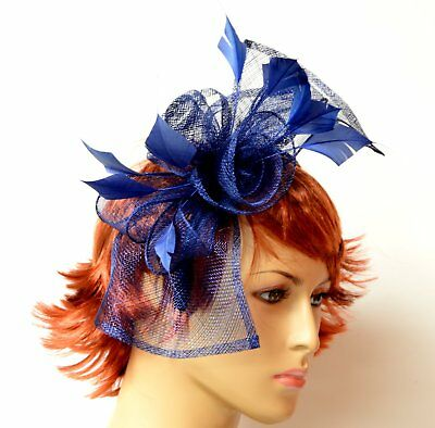 Hand-made Kentucky Derby sinamay ascinator-Kate Middleton Style