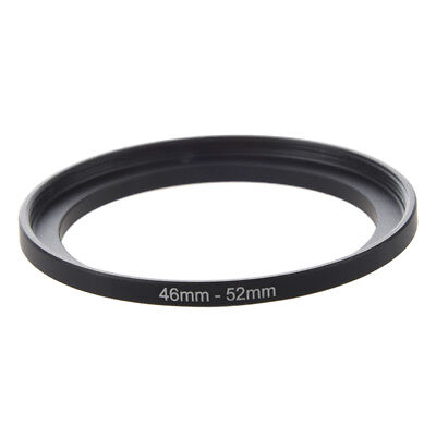 Camera Repairing 46mm to 52mm Metal Step Up Filter Ring Adapter N4O8