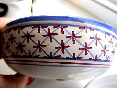 6 Hand Painted PORTUGAL Bowls Excellent Pre-Owned Condition