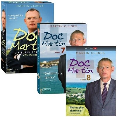 Doc Martin Season 1-8 DVD, Complete Series Collection + Movies Brand New R4