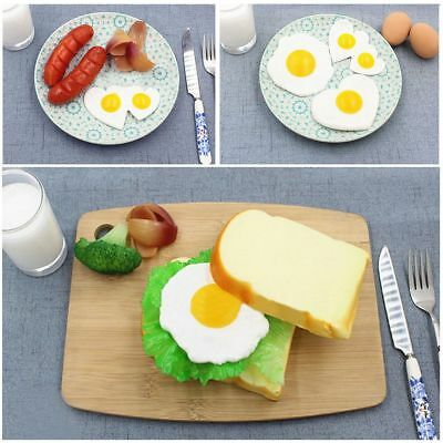 Role Play Kid Gift Kitchen Food Toy Pretend Cooking Omelette Simulation Eggs