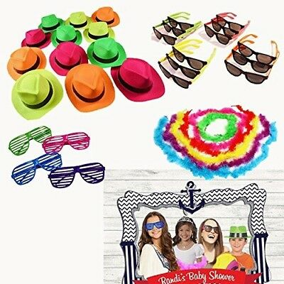 Portable Photo Booth Props For Kids Girls Boy Picture Best Birthday Party Events