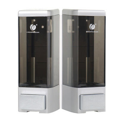 SALE!! Dispensador De Jabón Champú Bomba Montado Pared Ducha Baño Soap Dispenser