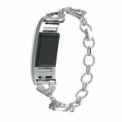 Watch Strap Bracelet For Fitbit Charge 2 Band Jewelry Stainless Steel Wristband