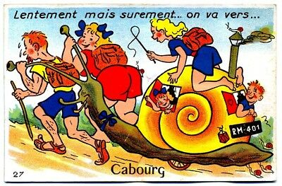(S-115199) FRANCE - 14 - CABOURG CPA      GABY ed.