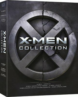 X-Men Complete Collection (6 Dvd) Cofanetto Unico, Nuovo, Italiano