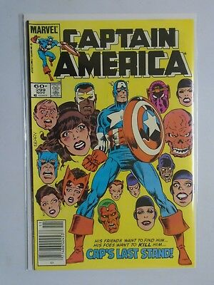 Captain America (1968 1st Series) #299 - 6.0 - 1984 - NS