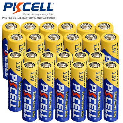 12 AA R6P + 12 AAA R03P 1.5V Super Heavy Duty Carbon-Zinc Batteries PKCELL