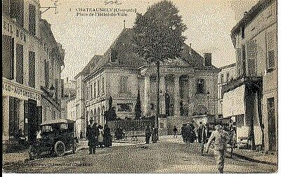 (S-18258) FRANCE - 16 - CHATEAUNEUF SUR CHARENTE CPA      PERROIS  ed.