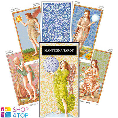 Mantegna Tarot Deck Cards Lo Scarabeo Esoteric Fortune Telling New