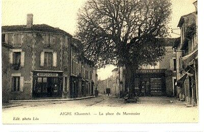 (S-93847) France - 16 - Aigre Cpa