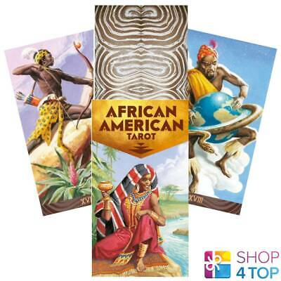 African American Tarot Deck Cards Esoteric Fortune Telling Lo Scarabeo New