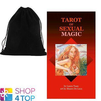 Tarot Of Sexual Magic Deck Cards Tuan Fortune Telling Lo Scarabeo With Bag New