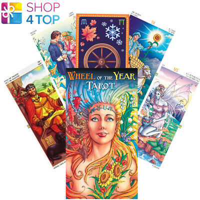 Wheel Of The Year Tarot Deck Cards Platano Esoteric Fortune Oracle Telling New