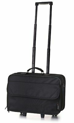 Laptop Roller Bag Trolley Wheeled Briefcase Telescopic Handle Luggage Travel New
