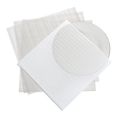 """Foam Wrap Cup Pouches 11 7/8"""" x 12 1/8"""" 50 Count Cushion Pouches Protect Dishes"""