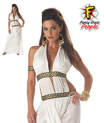 Ladies Spartan Warrior Queen Costume Greek Roman Sexy Fancy Dress Womens Outfit  sc 1 st  PicClick UK & LADIES SPARTAN WARRIOR Queen Costume Greek Roman Sexy Fancy Dress ...