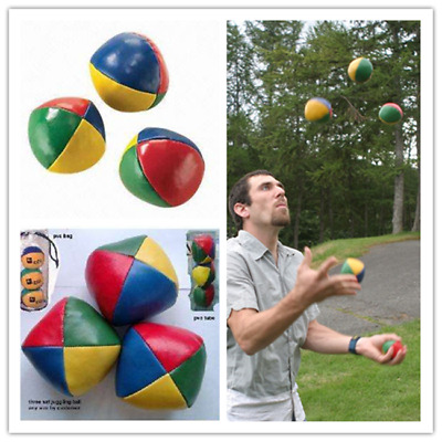 Juggling Balls Classic Bean Bag Juggle Magic Circus Beginner Kid